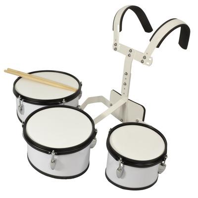 3 Piece Marching Drum Set - 8