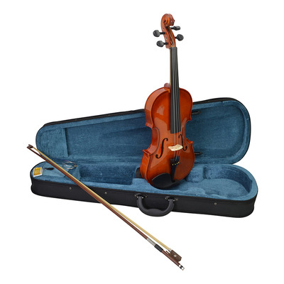 1/2 Size Student Violin Set Inc Case, Bow & Rosin with High Gloss Finish