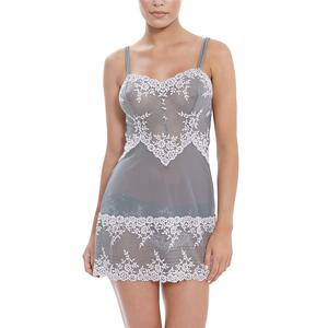 Wacoal Embrace Lace Chemise - Frost Pink/Grey Preview
