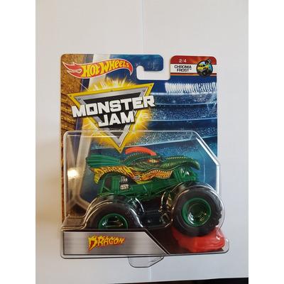 Hot Wheels Monster Jam   Dragon   Chroma Frost 2/4