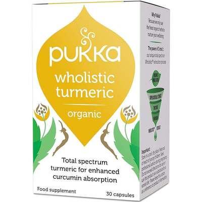 Pukka Wholistic Turmeric 30 Capsules