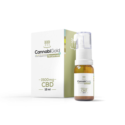 Cannabigold Premium 15% 1500mg CBD Oil 12ml