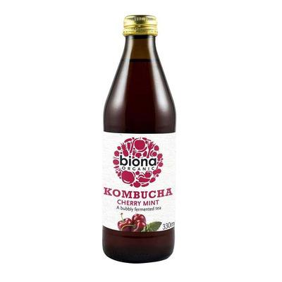 Biona Organic Kombucha Cherry & Mint 330ml