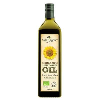 Mr Organic Sunflower Oil 750ml