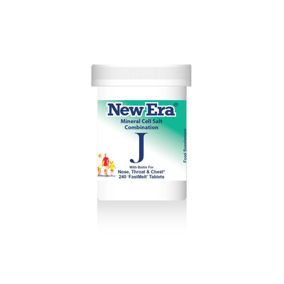 New Era Combination J - For Nose, Throat & Chest 240 Tablets