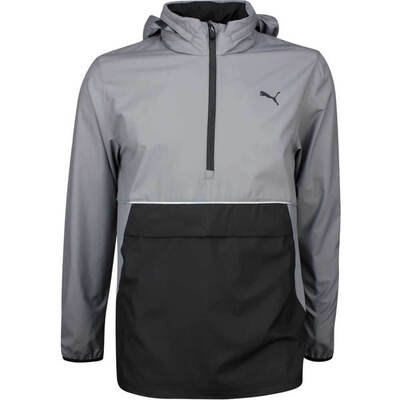 PUMA Golf Jacket Retro Wind Hoodie Quiet Shade LE SS19