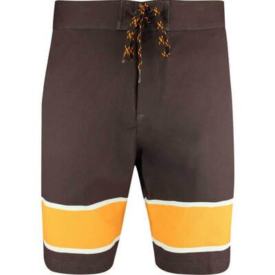 PUMA Golf Shorts Play Loose Hang Ten Boardshort Chocolate LE SS19