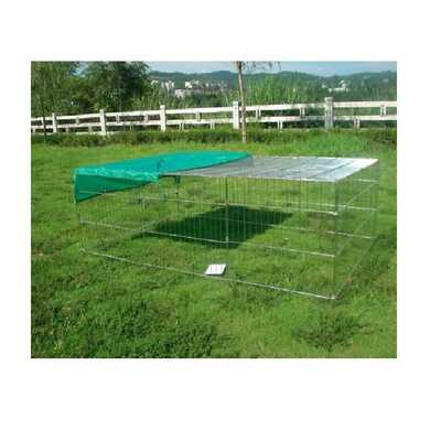 Pet Play Pen Metal Enclosure Run with Roof