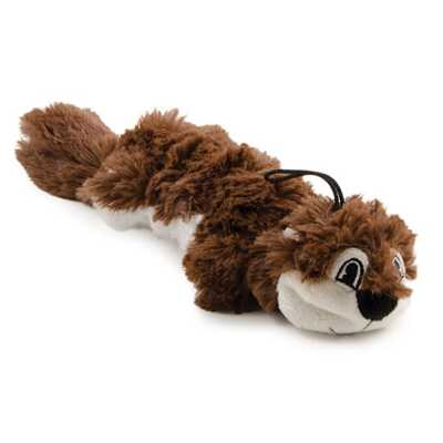 Ancol Rope Filled Squirrel - Dog Toy