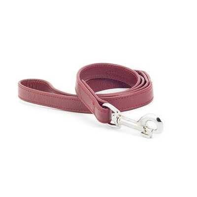 Ancol Indulgence Folded Leather Dog Lead