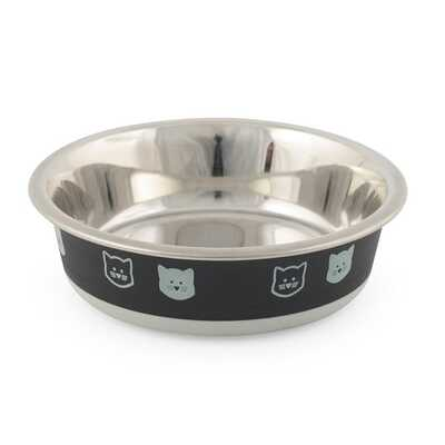 Ancol Fusion Stainless Steel Cat Bowl