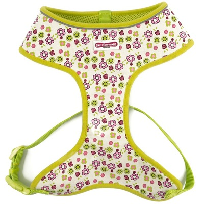Ancol Lime Flowers Comfort Harness