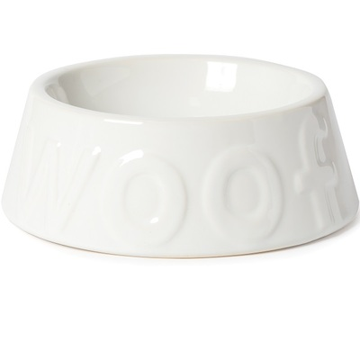Ancol Ceramic Gloss Woof Dish