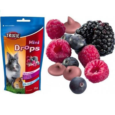 Trixie Small Animal Mini Drops Snack 75g