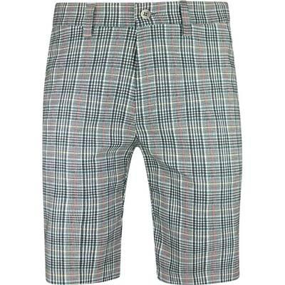 Galvin Green Golf Shorts Paco Ventil8 Grey Check AW19