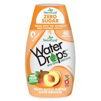 Natural Stevia Water Drops Peach & Mango 48ml