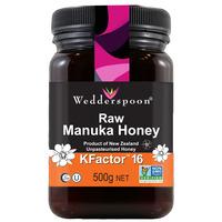 KFactor 16 RAW Manuka Honey 500g