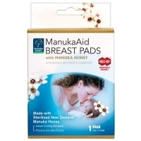 ManukaAid Breast Pads with Manuka Honey 1 pair