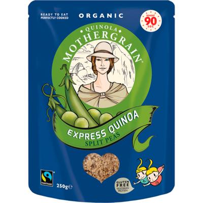 Quinola Mothergrain Express Quinoa Split Peas 250g