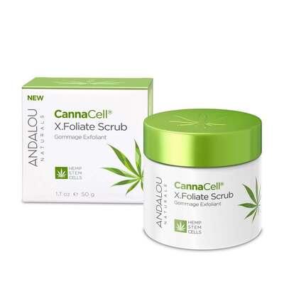Andalou Naturals CannaCell X.Foliate Scrub 50g