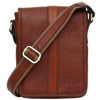 Felda Firenze Genuine Leather Mini Side / Messenger Bag - Cognac