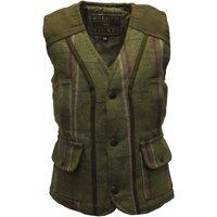 Walker & Hawkes Pink Stripe Baby Girl Tweed Waistcoat/Gilet/Vest - 14 (6-12 Months)