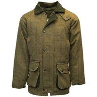Walker & Hawkes Mens Light Sage Tweed Shooting Country Coat / Jacket - XS