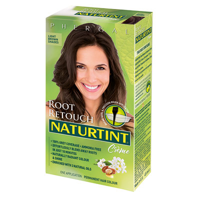 Naturtint Root Retouch Light Brown Shades 45ml