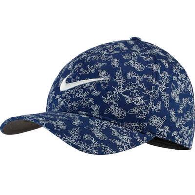 Nike Golf Cap NK Aerobill Classic 99 Print Blue Void SS19