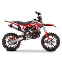 Image of FunBikes MXR 50cc Motorbike 61cm Red/Black Kids Dirt Bike