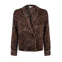 Vigo Pyjama Shirt - Brown