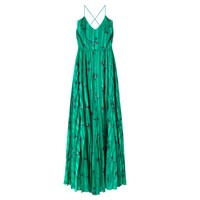 Wagotine Printed Dress - Jade