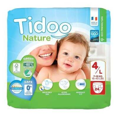 Tidoo Nappies Size 4 - 24 Nappies
