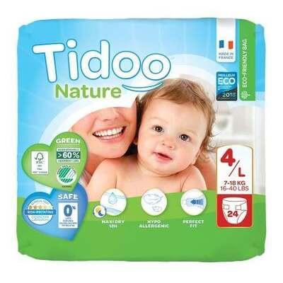 Tidoo Nappies Size 4 - 24 Nappies
