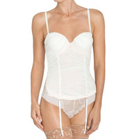 Triumph 10166923 Triumph Splendid Essence Corsage Basque Corset 10166923 Skin/Light Combination 10166923 Skin/Light Combination
