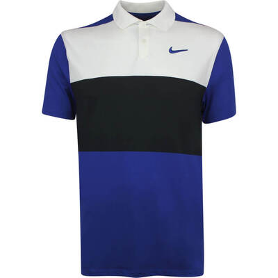 Nike Golf Shirt Vapor Colour Block Indigo Force SS19