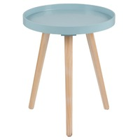 Pacific Lifestyle &pipe; Aqua Wood Round Table Small