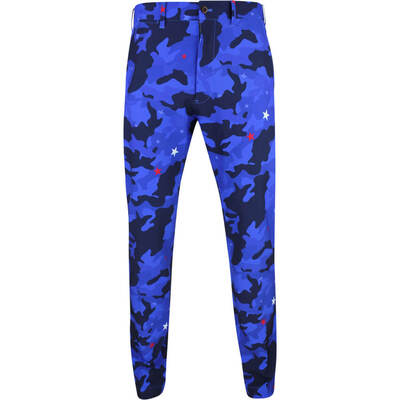 Justin Thomas POLO Golf Trousers Print Tech Pant Star Camo SS19