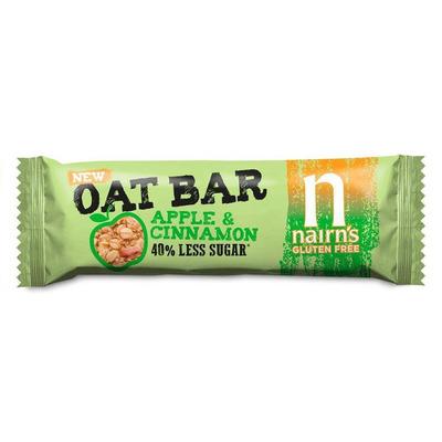 Nairn's Gluten Free Apple & Cinnamon Oat Bars - Pack of 20