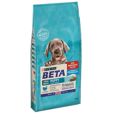 Purina Beta Large Breed Puppy Turkey Dog Food