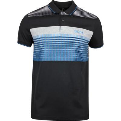 BOSS Golf Shirt Paddy Pro 2 Black FA19