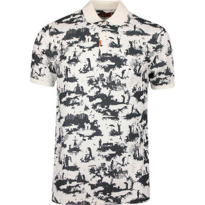 Nike Golf Shirt The Nike Polo Graphic Slim Sail AW19