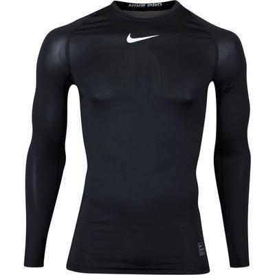 Nike Golf Base Layer LS Nike Pro Shirt Black AW19