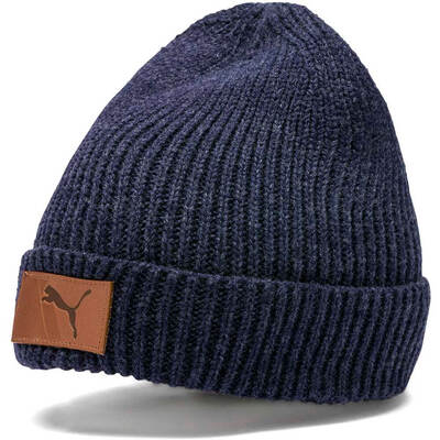 PUMA Golf Hat Habit Beanie Peacoat AW19