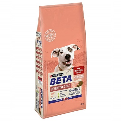 Purina Beta Sensitive Adult Salmon & Rice Dog Food