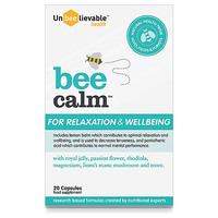UnBEElievable-Health-Bee-Calm-For-Relaxation-and-Wellbeing-20-Capsules