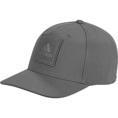 adidas Golf Cap Debossed Logo Snapback Grey Four AW19