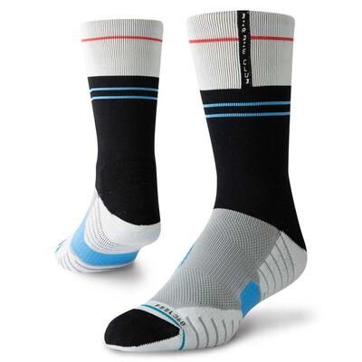Stance Golf Socks Pin Drop Crew Grey 2019