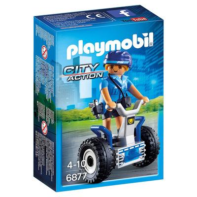 Playmobil Policewoman With Balance Racer