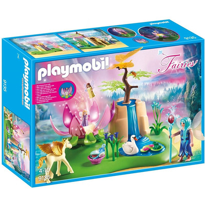 Playmobil Fairies Mystical Fairy Glen With Glowing Flower Throne